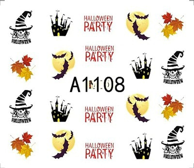 Halloween Stickers-A1108