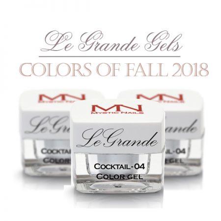 Gels de couleur - automne 2018
