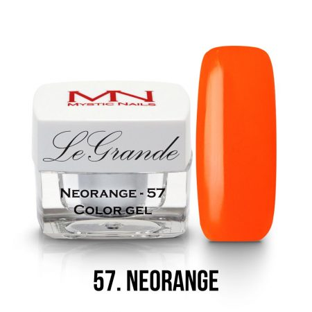 LeGrande Color Gel - no.57. - Neorange - 4g