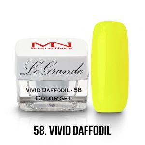 LeGrande Color Gel - no.58. - Vivid Daffodil - 4g