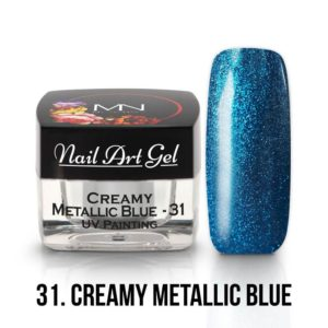 31 - Creamy Metallic Blue - 4g