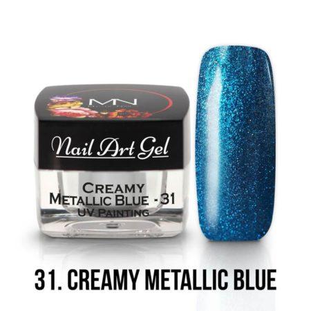 31 - Creamy Metallic Blue - 4g