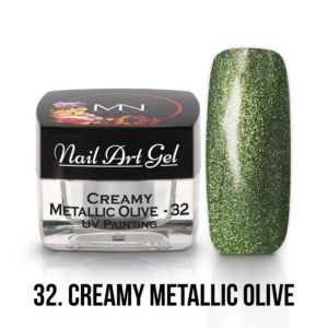32 - Creamy Metallic Olive - 4g