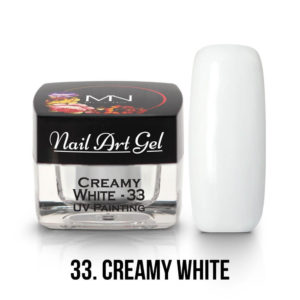 UV-Painting-Nail-Art-Gel-33-Creamy-White