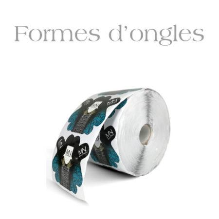 Formes d'ongles