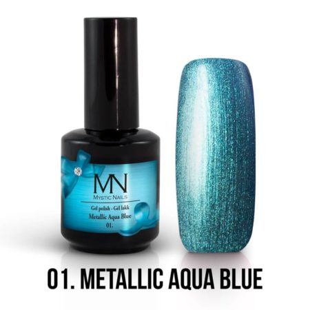 Metallic 01 - Metallic Aqua Blue 12ml