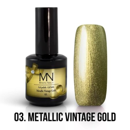 Metallic 03 - Metallic Vintage Gold 12ml