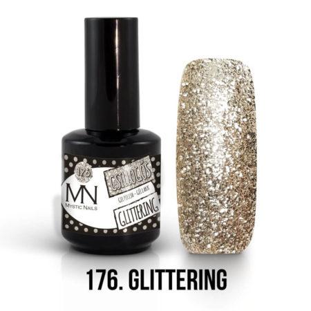 Gel Polish 176 - Glittering 12ml