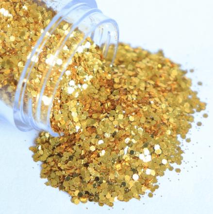 Paillettes holographiques gold