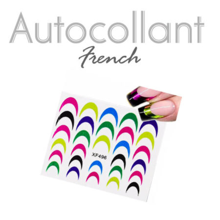 Autocollants french