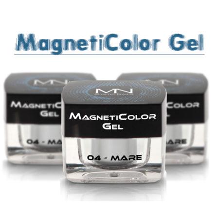 Gels de couleur magnétiques